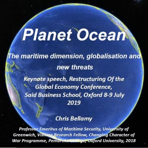 The maritime dimension, globalisation and new threats