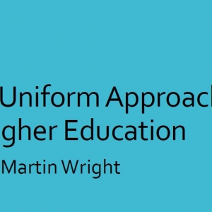 A Uniform Approach to Higher Education