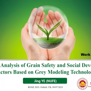 Relevant Analysis of Grain Safety and Social Development Factors Based on Grey Modeling Technology