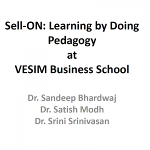 Sell ON: Learning by Doing Pedagogy at VESIM Business School
