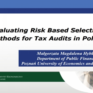 Evaluating Risk Based Selection Methods for Tax Audits in Poland